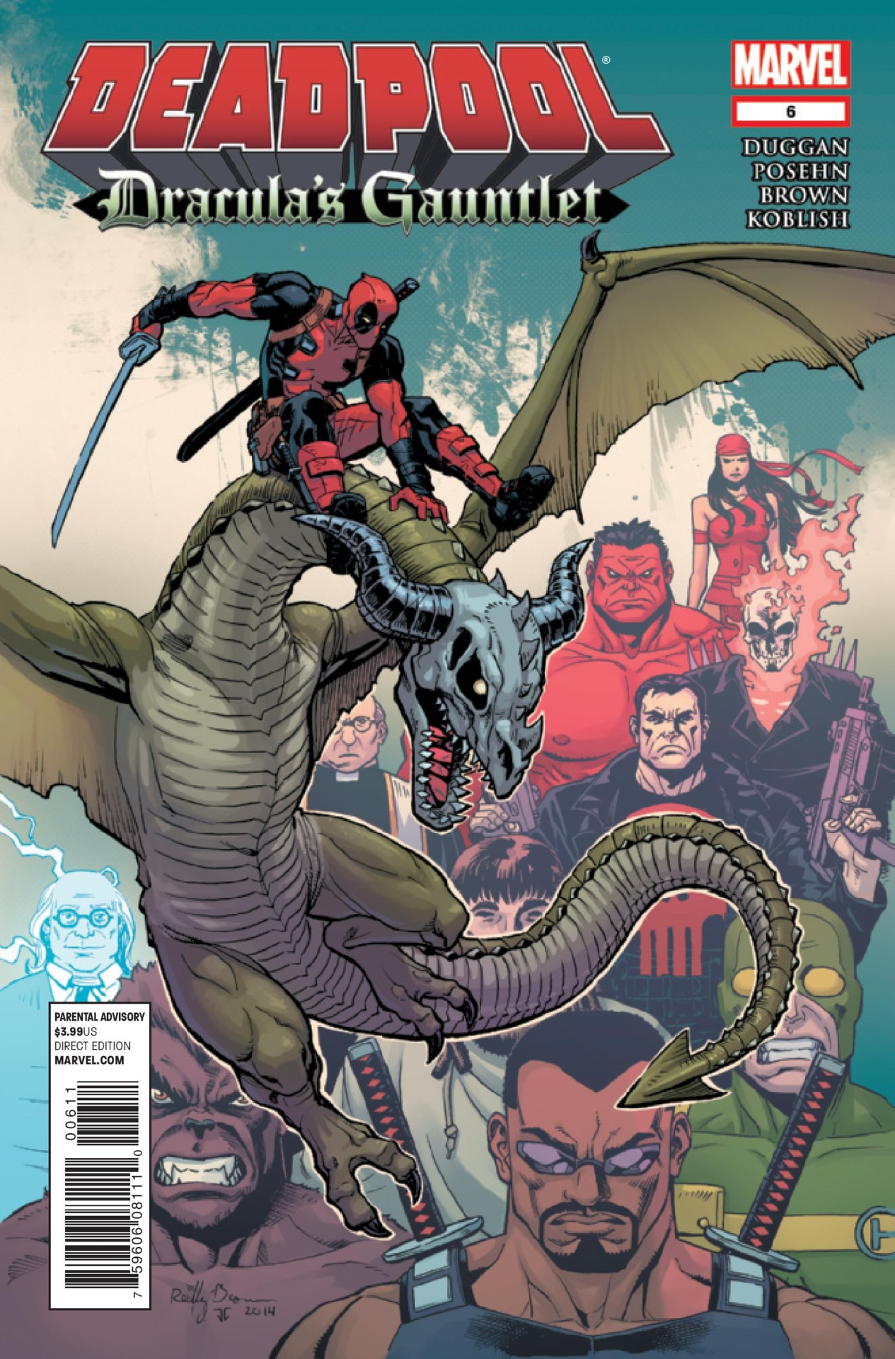 Deadpool: Dracula's Gauntlet Vol 1 6