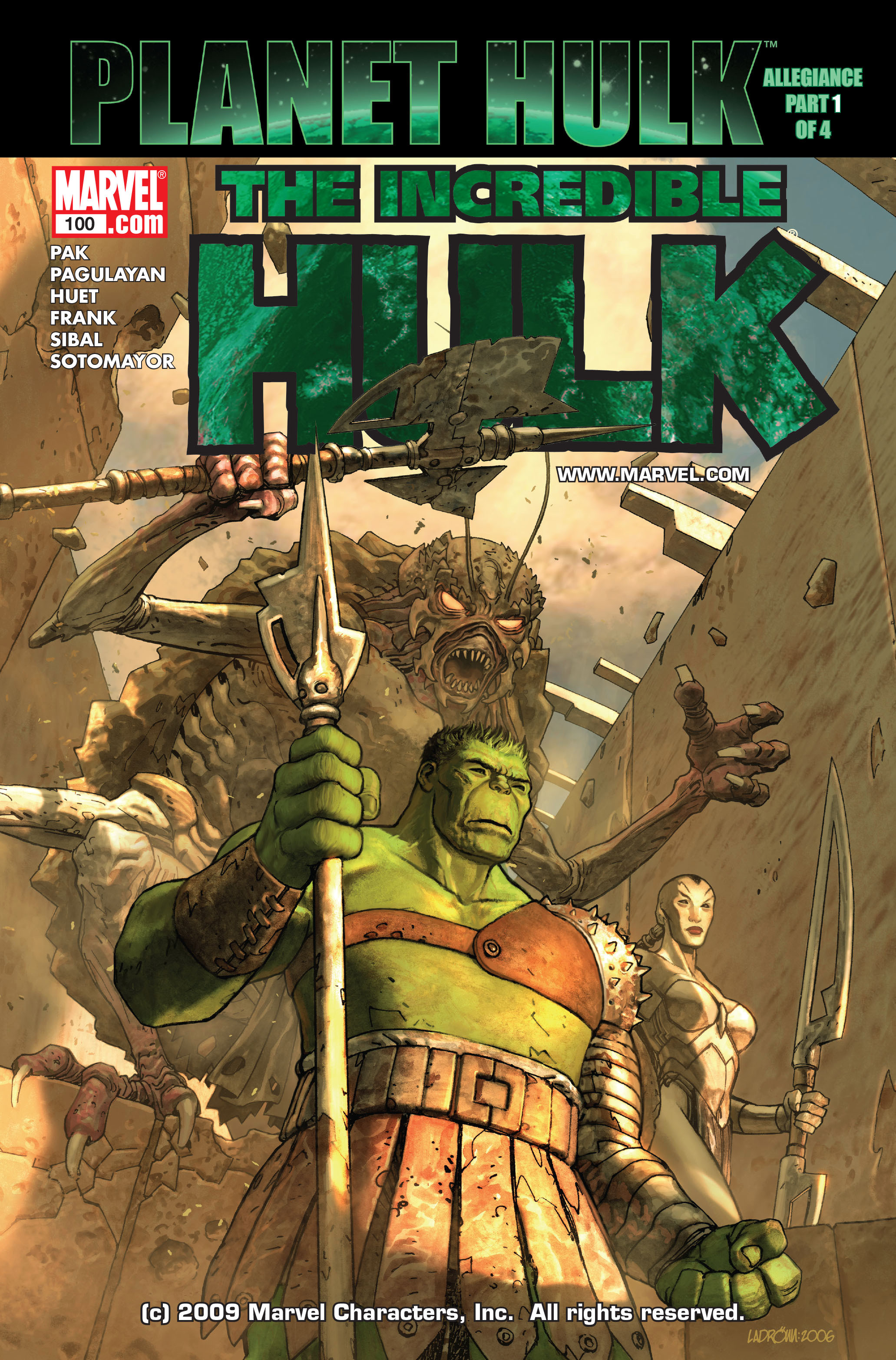 Incredible Hulk Vol 2 100