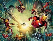 Invincible Iron Man Vol 1 600 Wraparound Textless