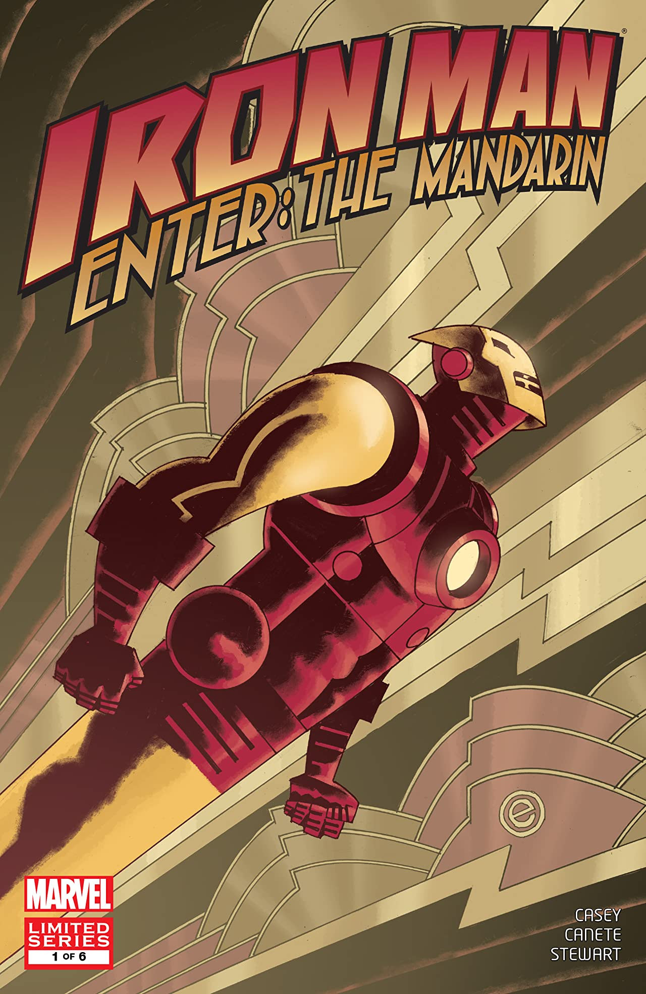 Iron Man: Enter the Mandarin Vol 1 1