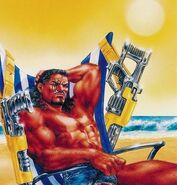 Lucas Bishop (Earth-1191) from Ultra X-Men (Trading Cards) 1995 Set 003