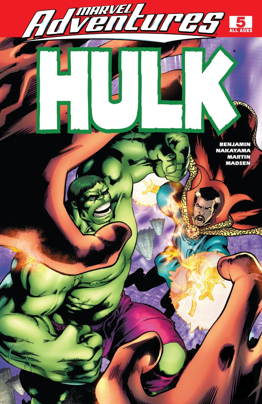 Marvel Adventures: Hulk Vol 1 5