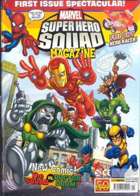 Marvel Super Hero Squad Magazine Vol 1