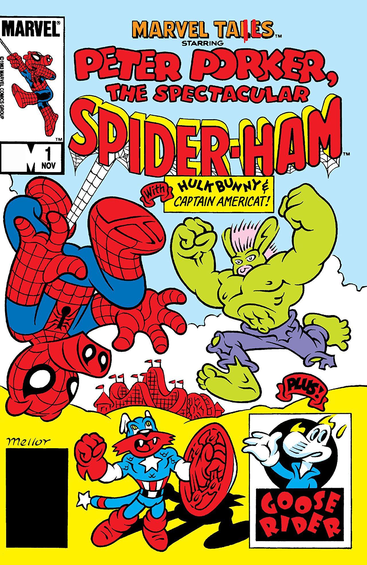 Marvel Tails Starring Peter Porker the Spectacular Spider-Ham Vol 1 1