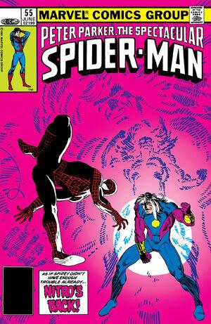 Peter Parker, The Spectacular Spider-Man Vol 1 55.jpg