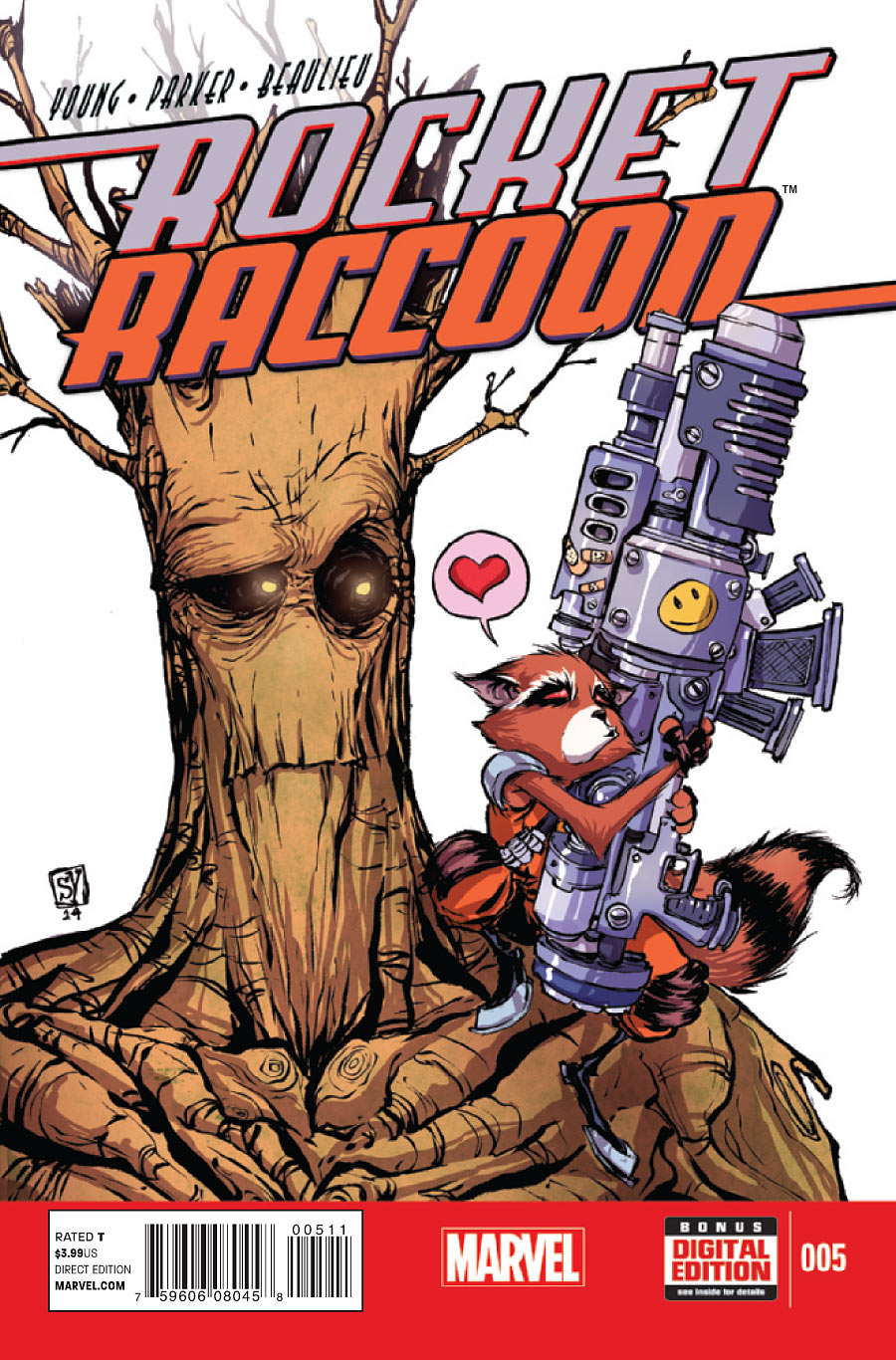 Rocket Raccoon Vol 2 5