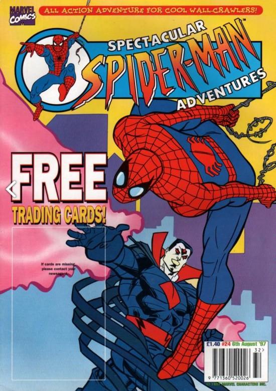 Spectacular Spider-Man (UK) Vol 1 24
