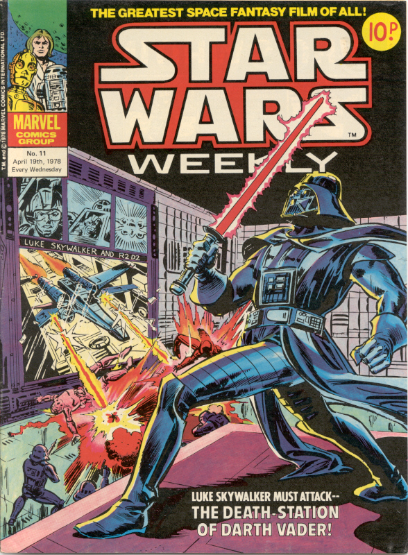 Star Wars Weekly (UK) Vol 1 11