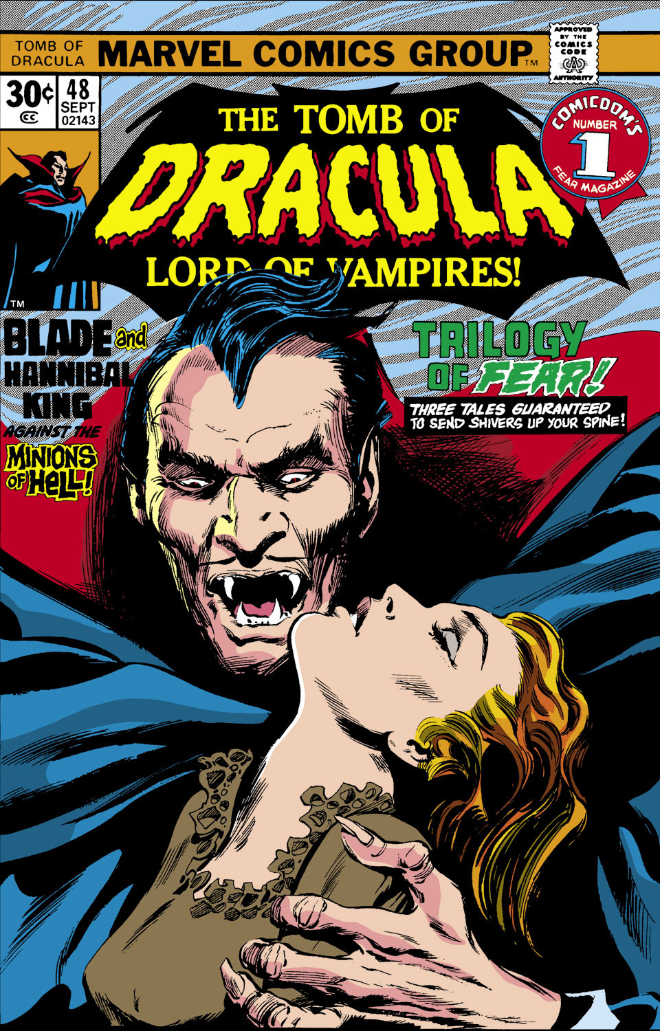 Tomb of Dracula Vol 1 48