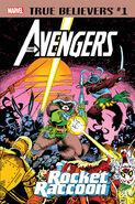 True Believers Avengers - Rocket Raccoon Vol 1 1