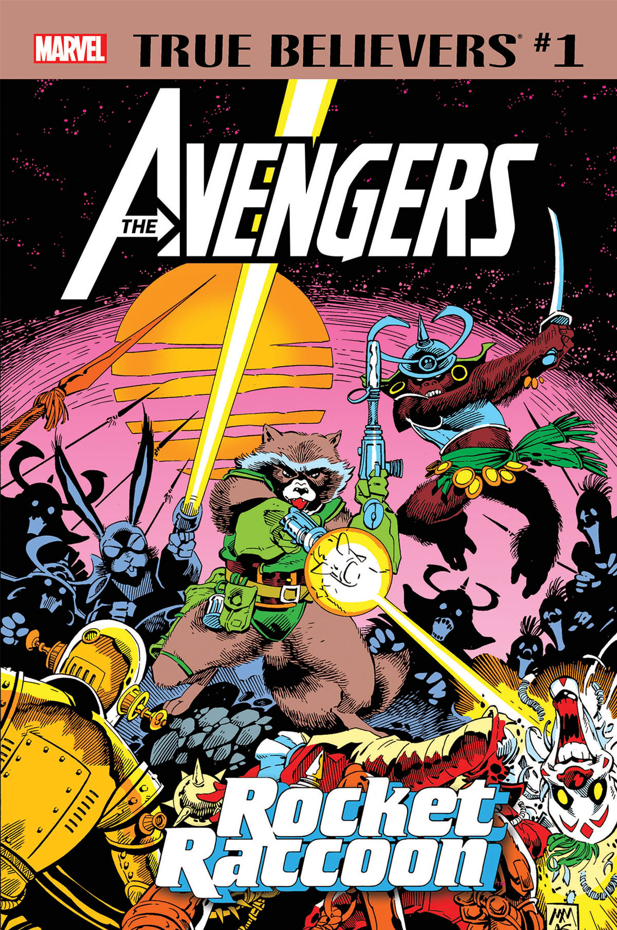True Believers: Avengers - Rocket Raccoon Vol 1 1