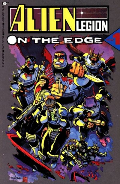 Alien Legion: On the Edge Vol 1 1