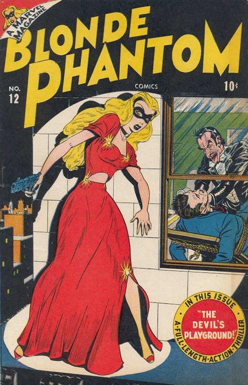 Blonde Phantom Comics Vol 1