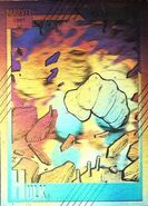 Bruce Banner (Earth-616) from Marvel Universe Cards Series II Hologram 0001