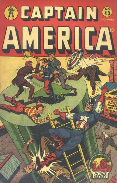 Captain America Comics Vol 1 43