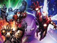 Invincible Iron Man Vol 2 25 Wraparound Textless