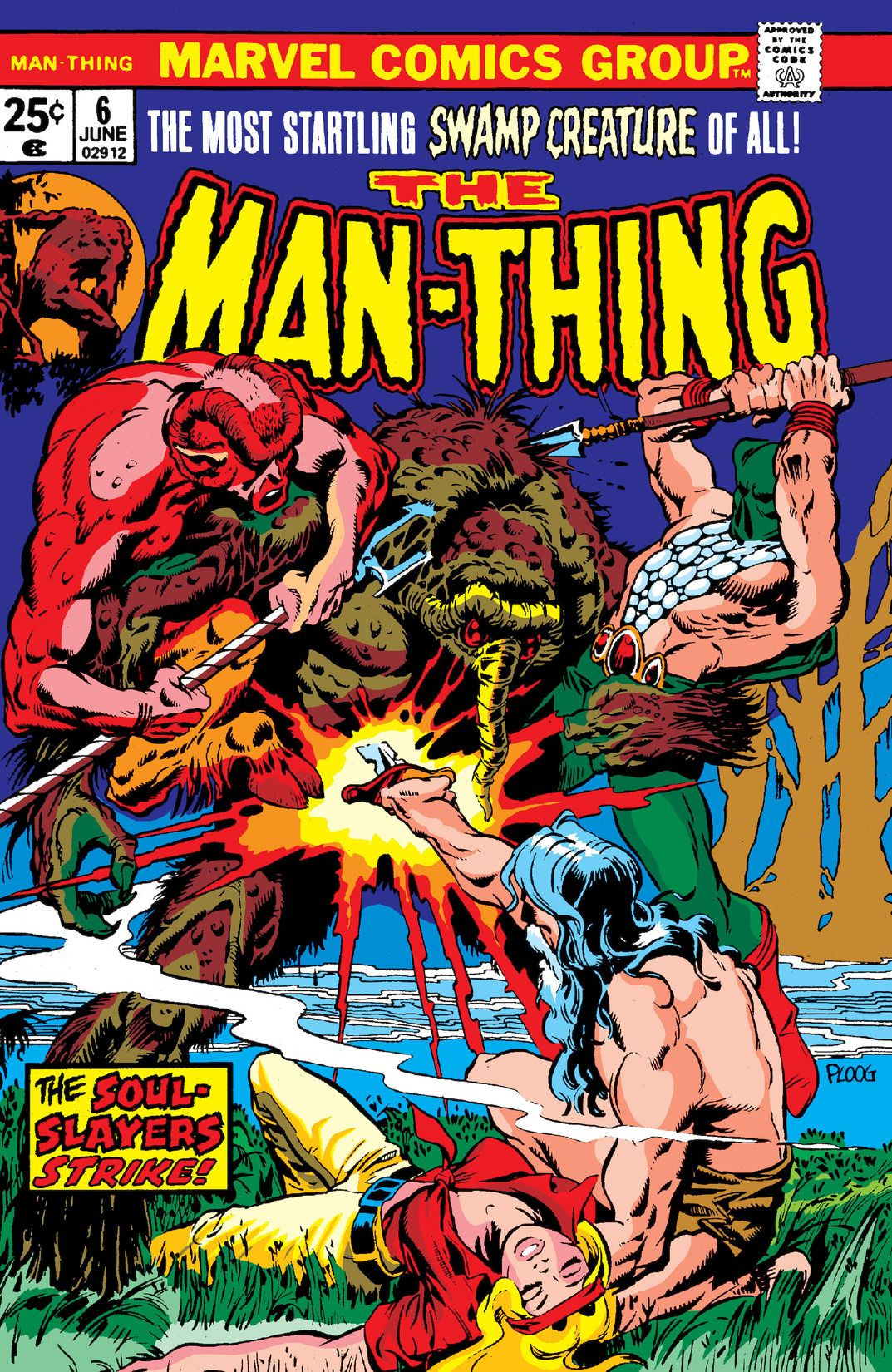 Man-Thing Vol 1 6