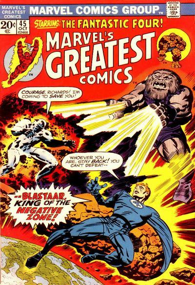 Marvel's Greatest Comics Vol 1 45