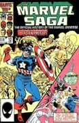 Marvel Saga the Official History of the Marvel Universe Vol 1 12