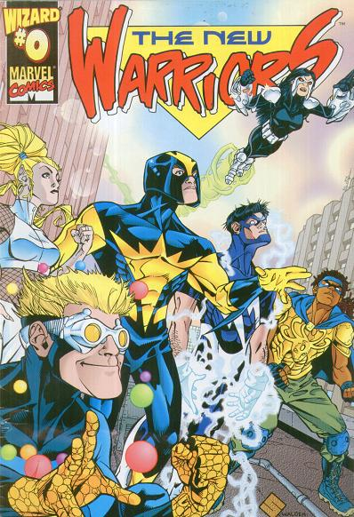 New Warriors Vol 2 0