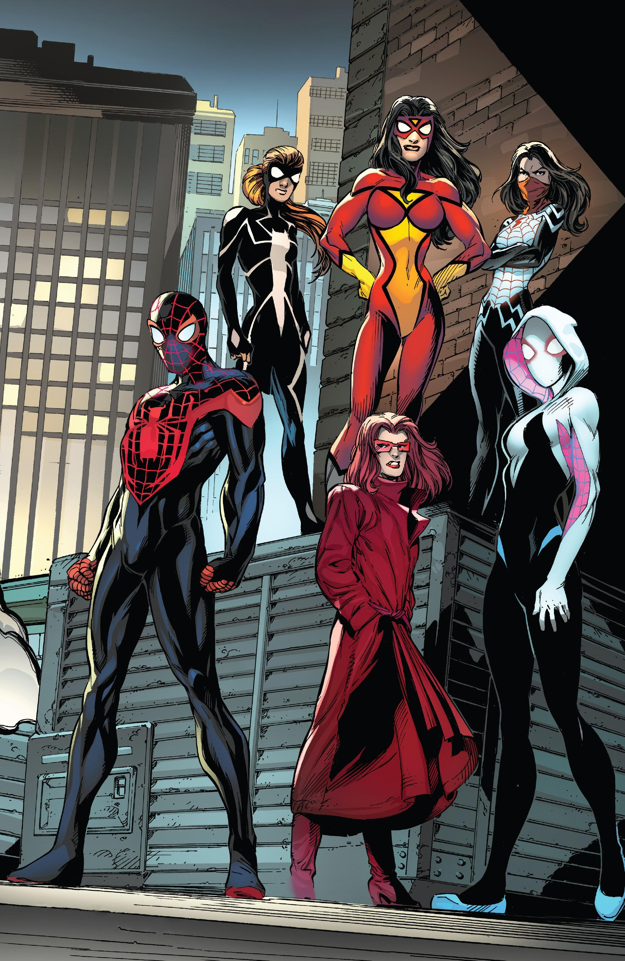 Order of the Web (Earth-616)/Gallery