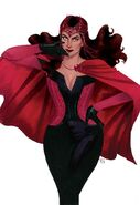 Scarlet Witch Vol 2 1 Wada Variant Textless