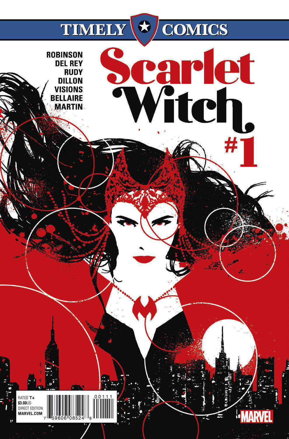 Timely Comics: Scarlet Witch Vol 1