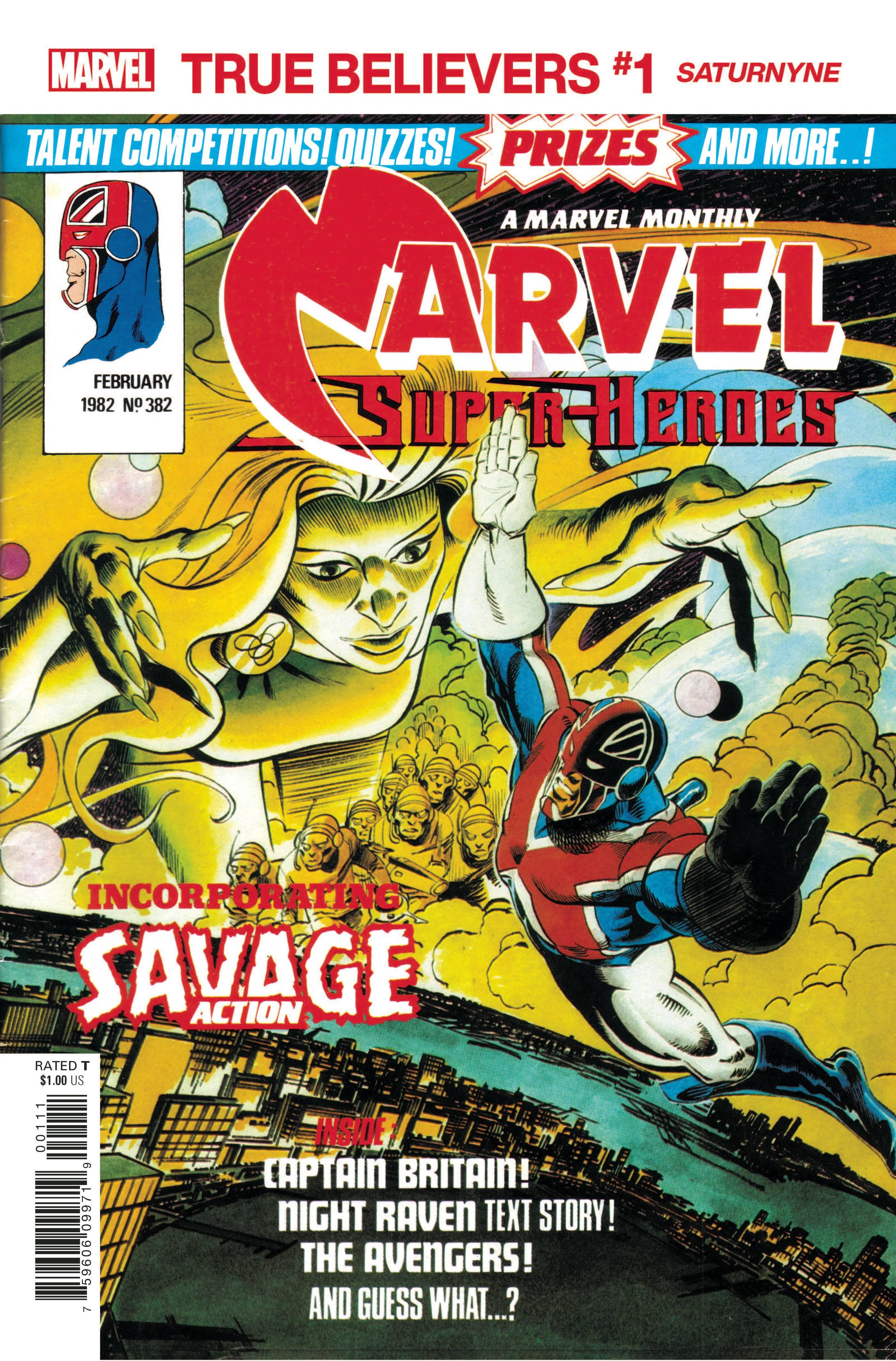 True Believers: X-Men - Saturnyne Vol 1 1