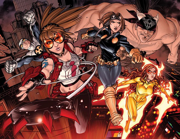 Young Allies (Modern) (Earth-616)