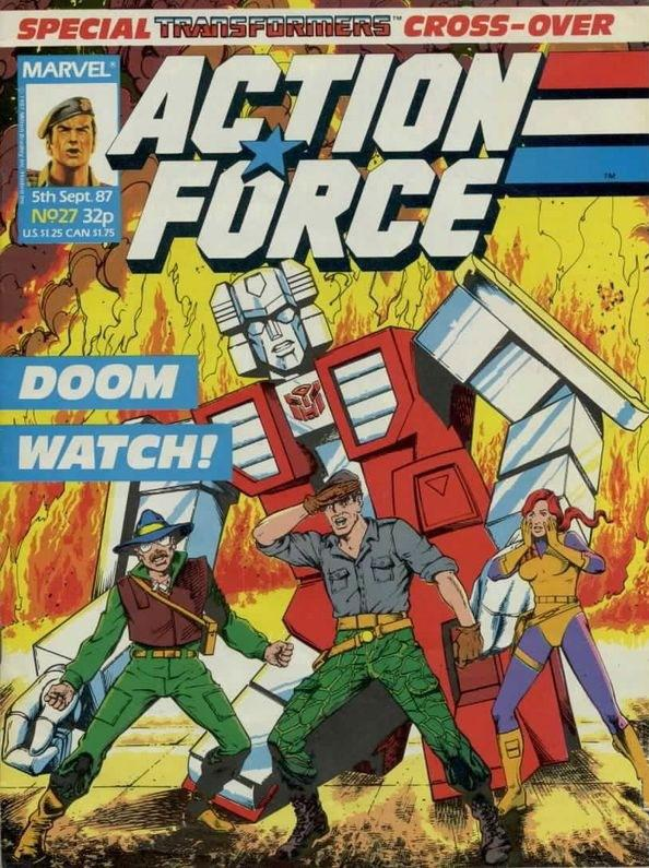 Action Force Vol 1 27