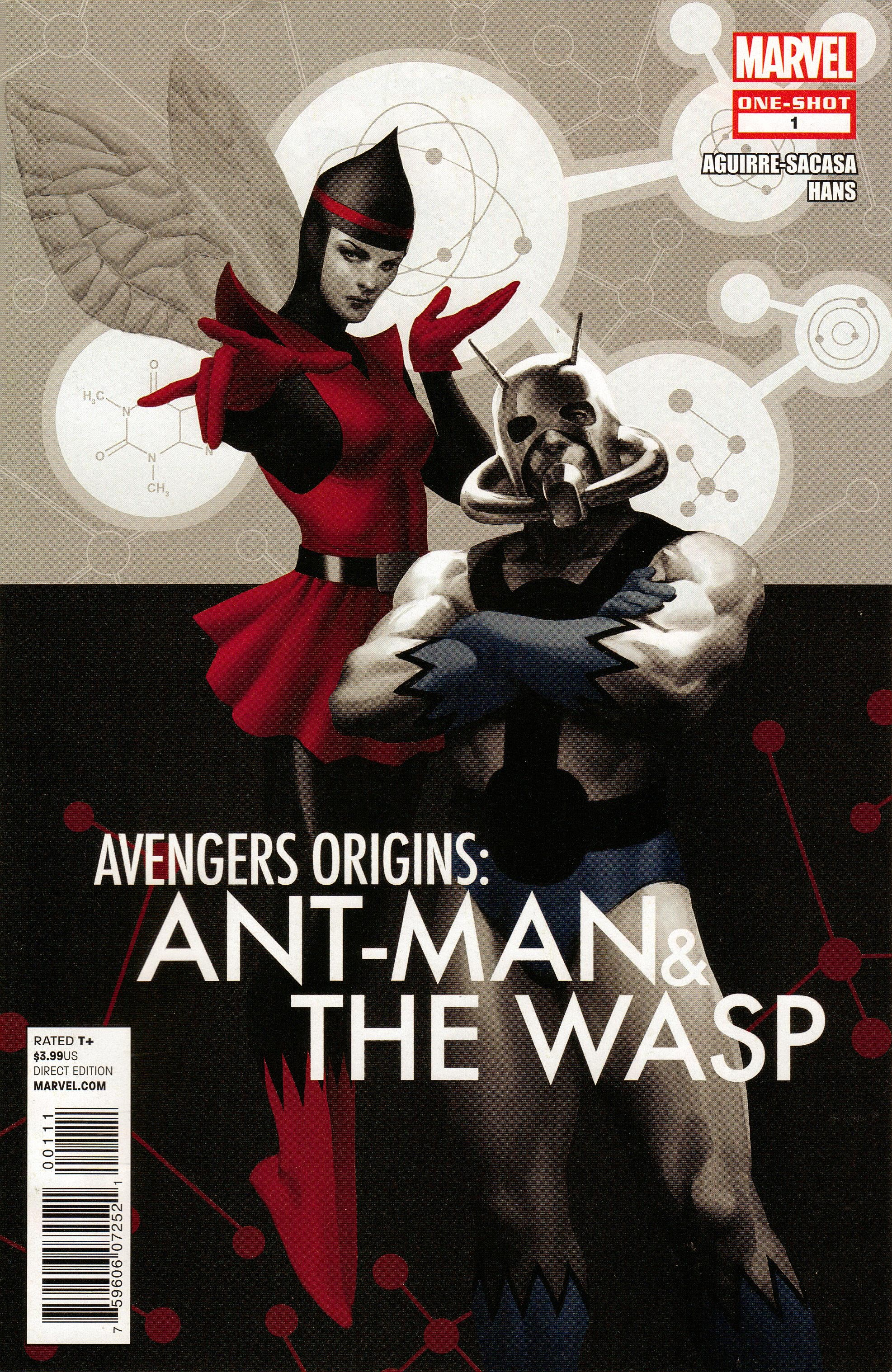 Avengers Origins: Ant-Man & the Wasp Vol 1 1