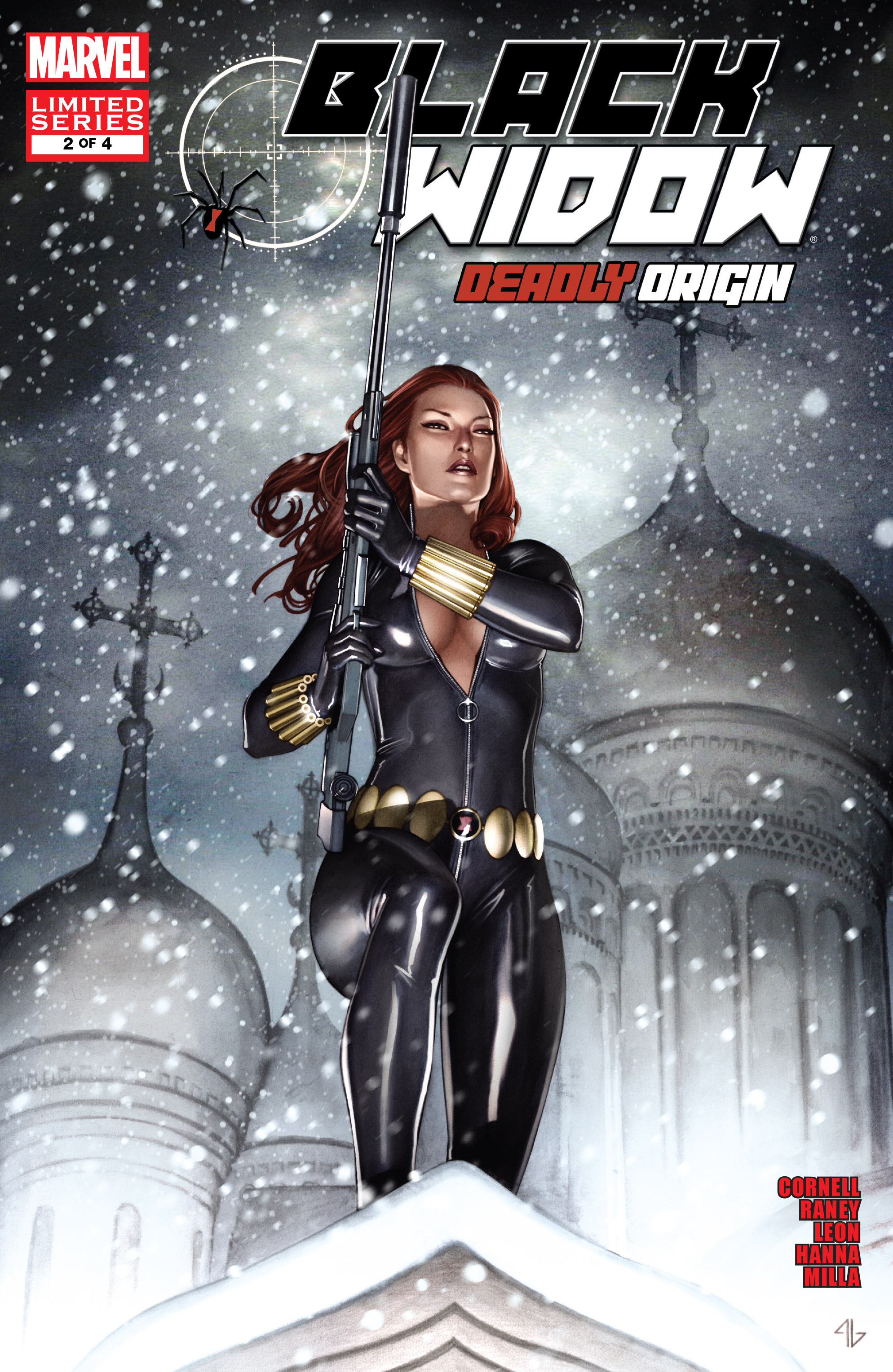 Black Widow: Deadly Origin Vol 1 2