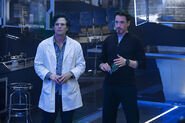 Bruce Banner (Earth-199999) and Anthony Stark (Earth-199999) from Avengers Age of Ultron 001