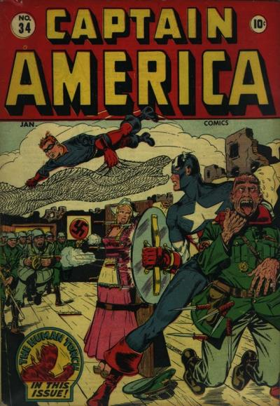 Captain America Comics Vol 1 34
