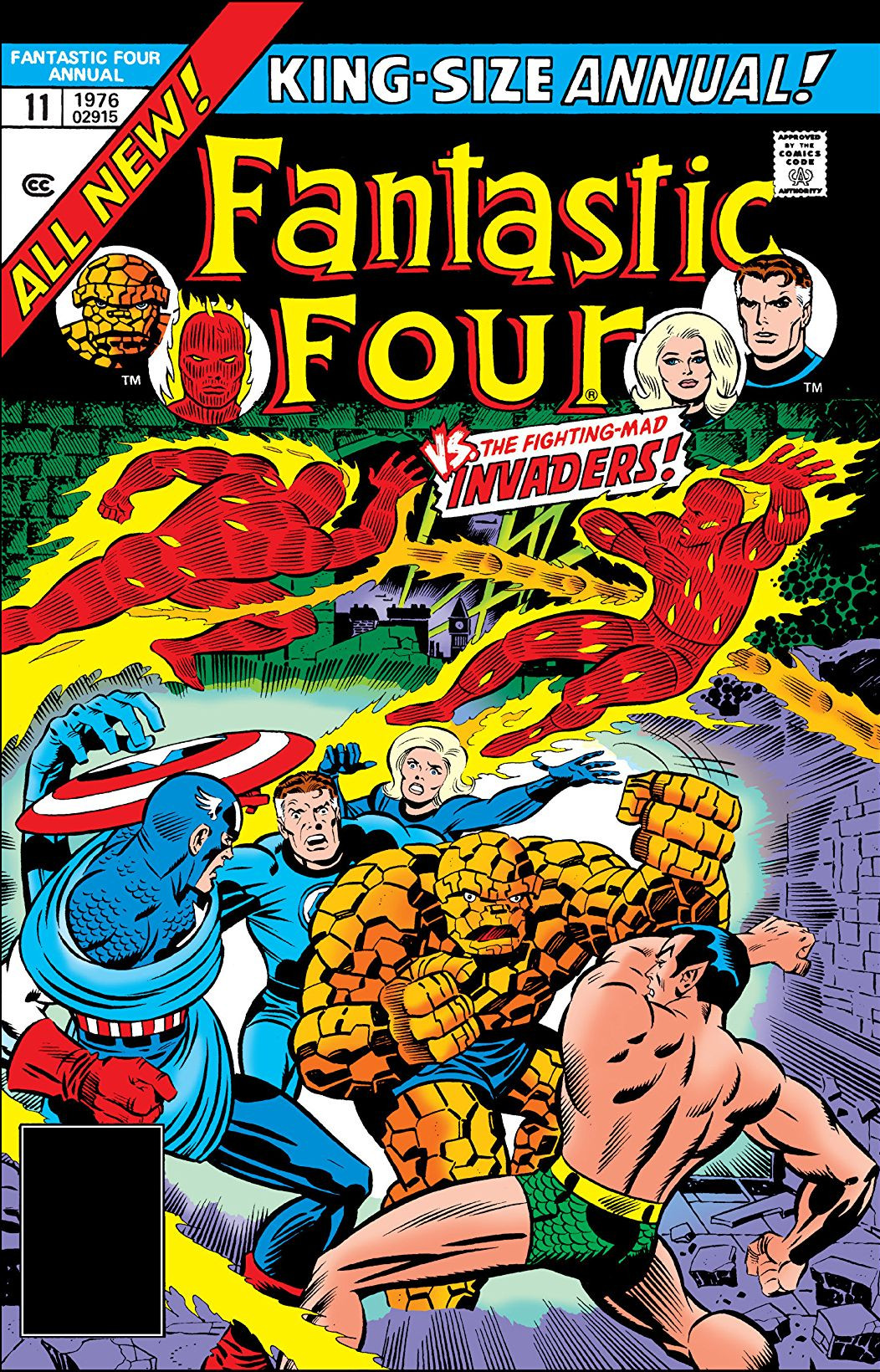 Fantastic Four Annual Vol 1 11