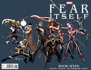 Fear Itself Vol 1 7 Billy Tan Variant