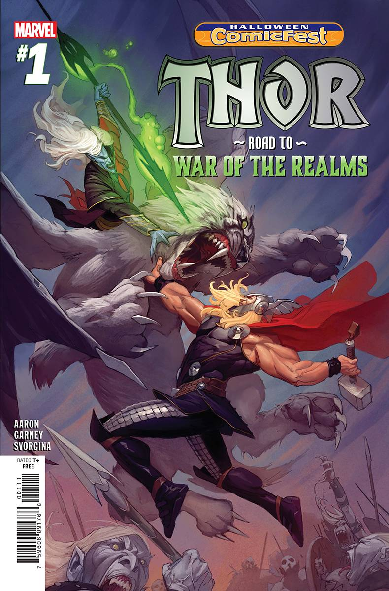 Halloween ComicFest Vol 2018 Thor: Road to War of the Realms