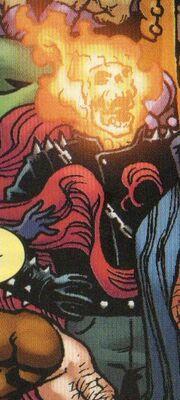 Johnathon Blaze (Project Doppelganger LMD) (Earth-616) from Spider-Man Deadpool Vol 1 33 001.jpg