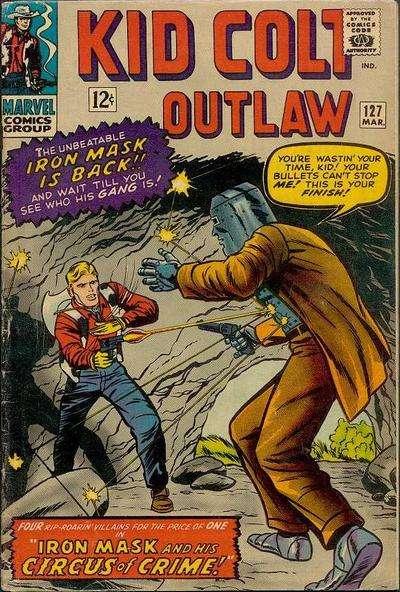 Kid Colt Outlaw Vol 1 127