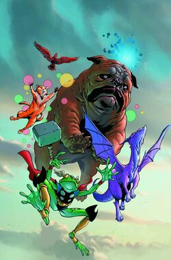 Lockjaw and the Pet Avengers Vol 1 1 Textless.jpg