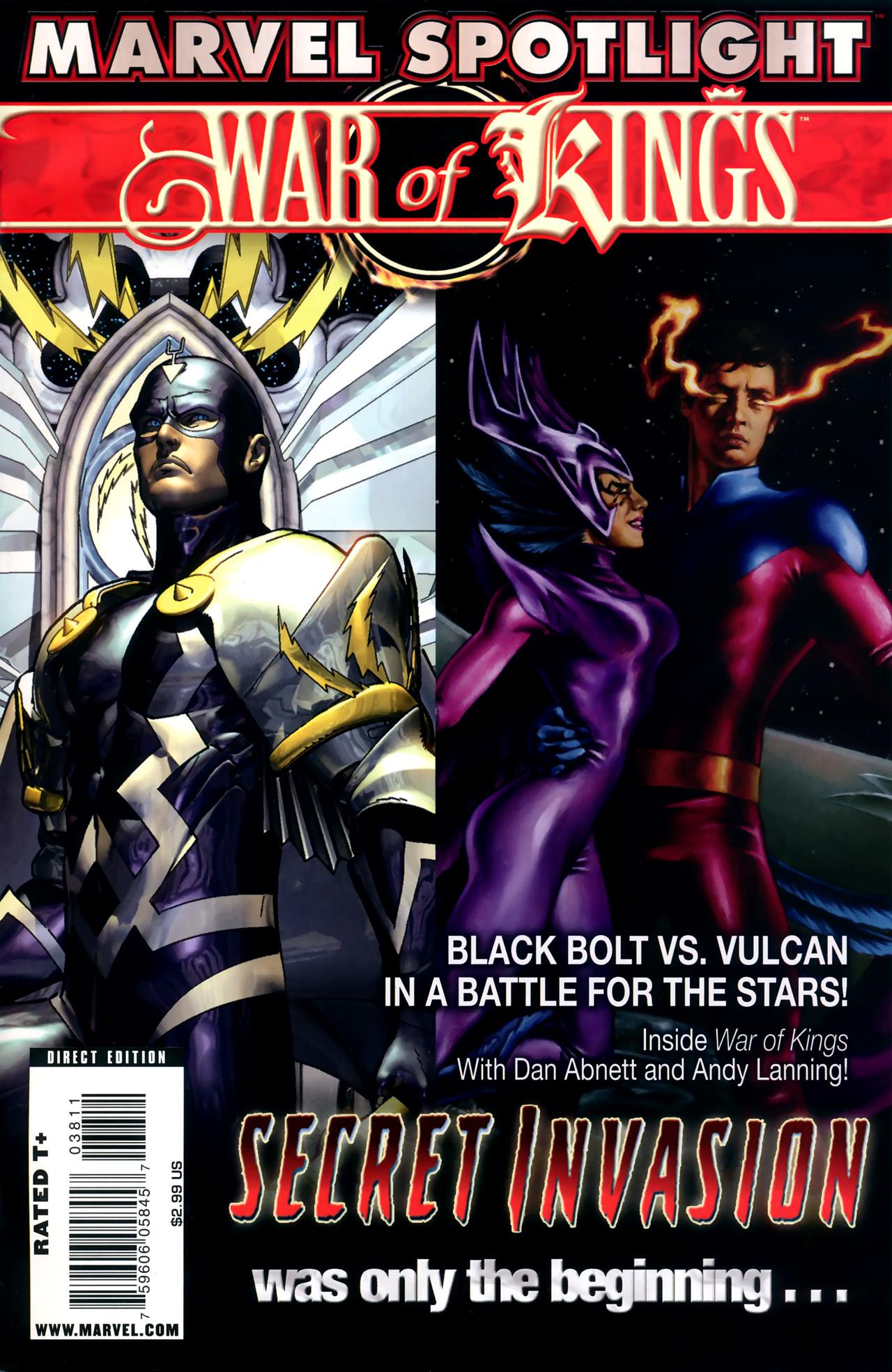 Marvel Spotlight: War of Kings Vol 1 1