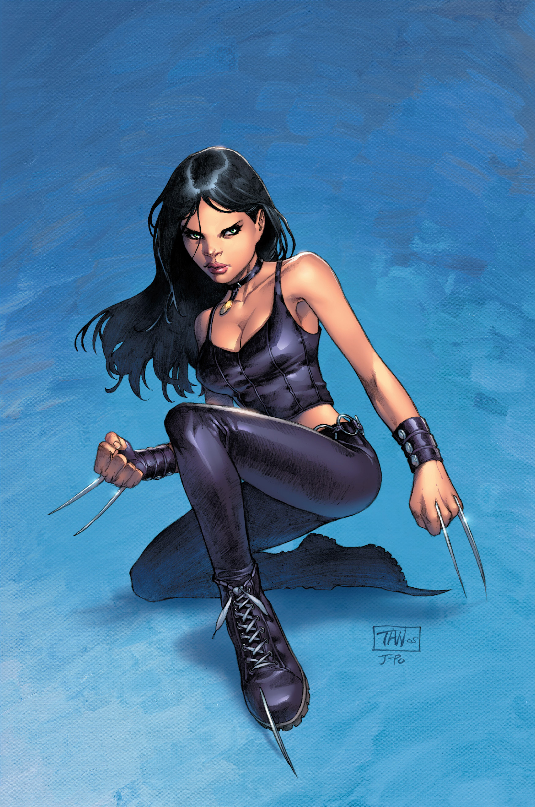 New X-Men Vol 2 20 Variant X-23 Textless.jpg