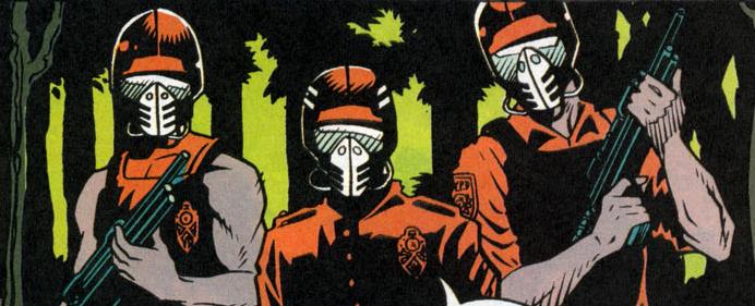 Psycho-Cops (Earth-616)/Gallery