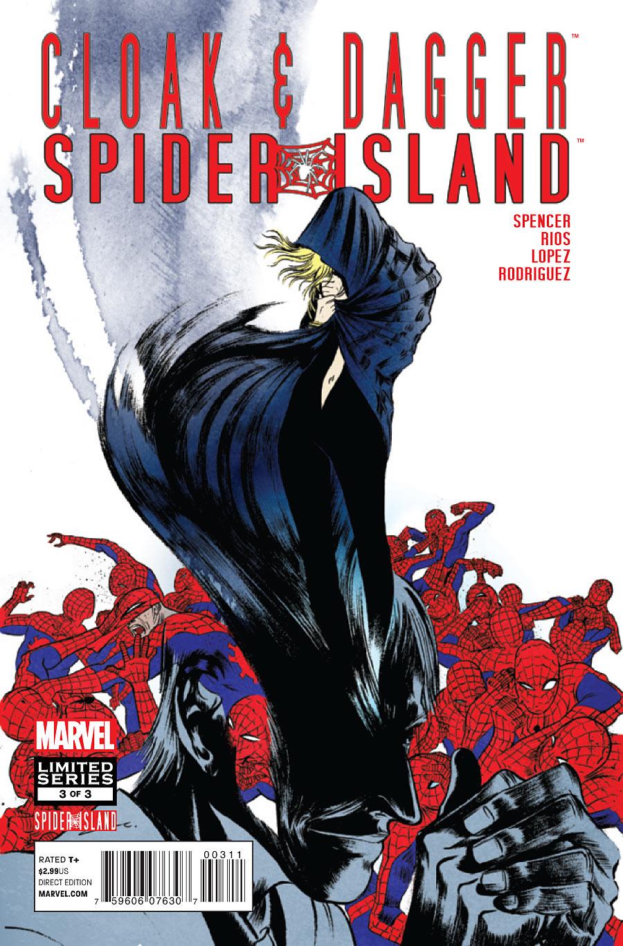 Spider-Island: Cloak & Dagger Vol 1 3