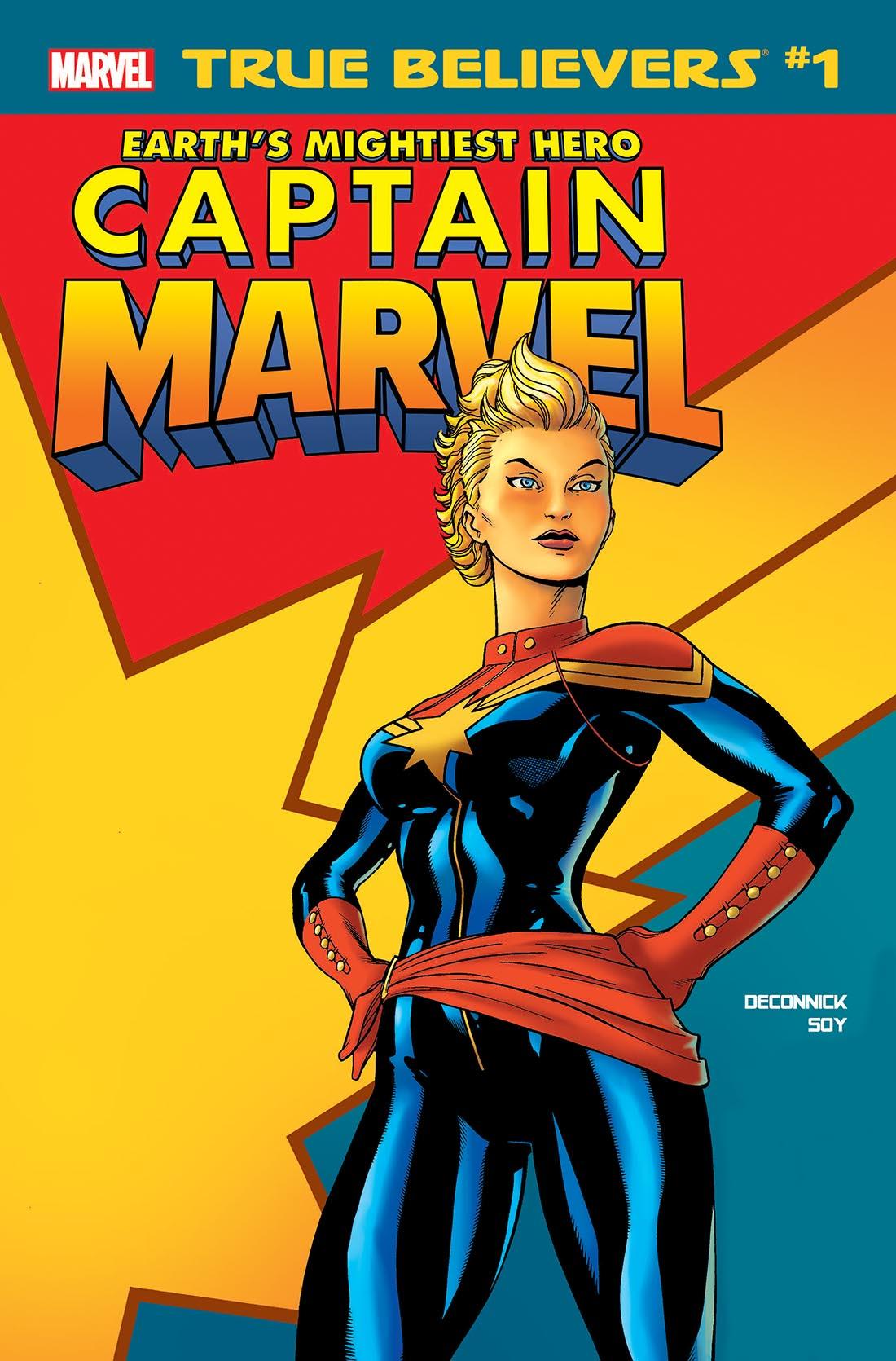 True Believers: Captain Marvel - Earth's Mightiest Hero Vol 1 1