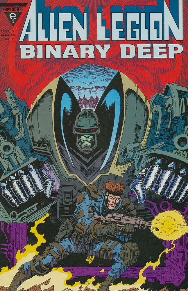 Alien Legion: Binary Deep Vol 1 1
