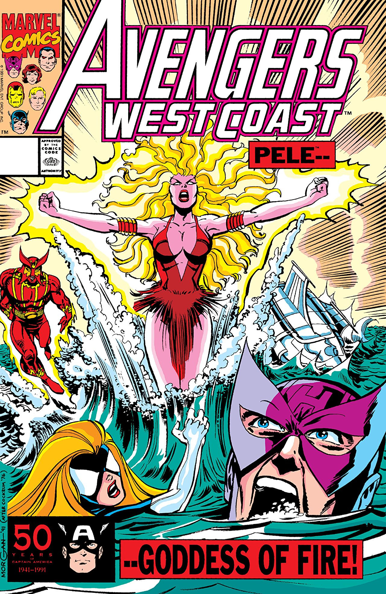 Avengers West Coast Vol 2 71