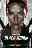 Black Widow (film) poster 023