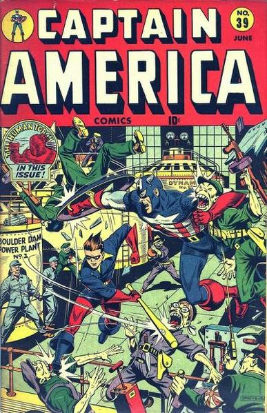 Captain America Comics Vol 1 39