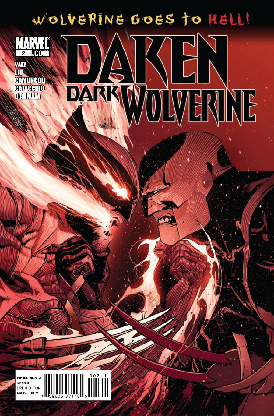 Daken: Dark Wolverine Vol 1 2